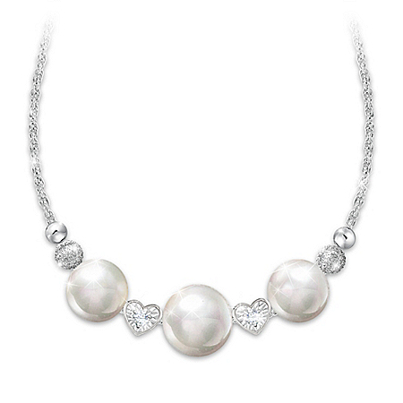 Today, Tomorrow & Always Romantic Cultured Pearl Necklace