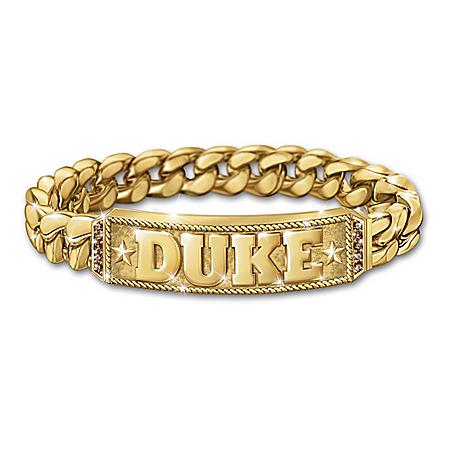 John Wayne-Inspired Duke Bourbon Quartz Men's Bracelet