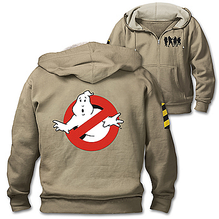 Ghostbusters Men's Hoodie With Embroidered Patches