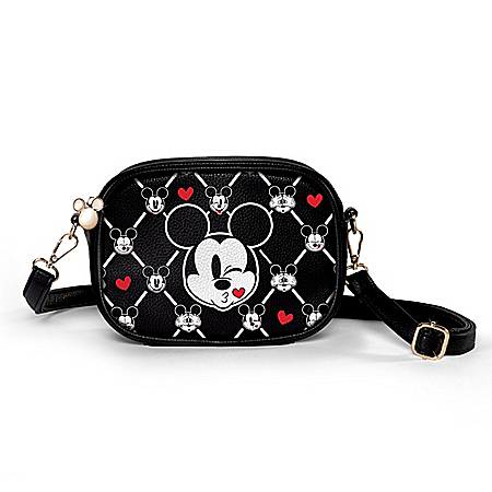 Disney Mickey Mouse Hands-Free Purse: Wear It Multiple Ways