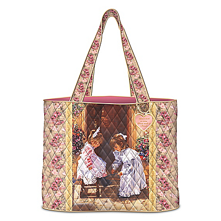 My Sister, My Friend Tote Bag With Sandra Kuck Artwork