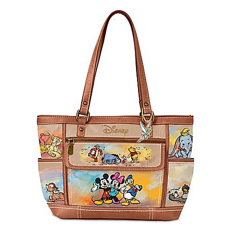 Disney Designer-Style Handbag Featuring Over 20 Characters