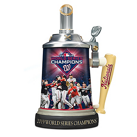 Washington Nationals 2019 MLB World Series Champions Porcelain Stein