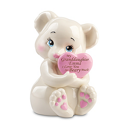 Granddaughter, I Love You Beary Much Personalized Figurine – Personalized Jewelry