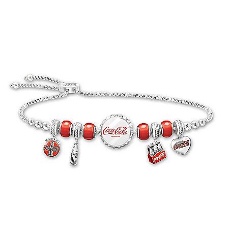 COCA-COLA Classic Refreshment Charm Bracelet