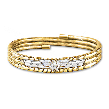 Lasso Of Truth Wonder Woman DC Comics Women's Bracelet