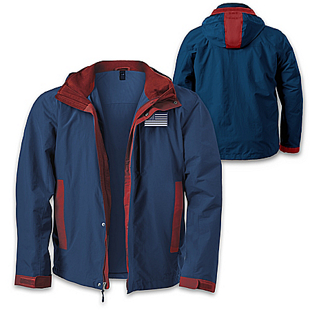 United We Stand 3-In-1 Convertible Men's Jacket