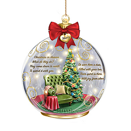 There In Spirit Personalized Ornament – Personalized Jewelry