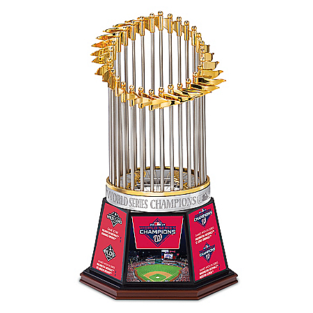 Nationals 2019 World Series Champions Commemorative Trophy