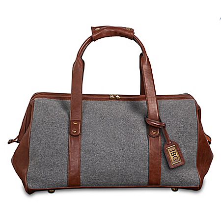 The Traveler Duffel Bag Personalized With Initials