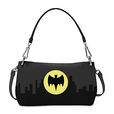 BATMAN Glow-In-The-Dark Handbag That Can Be Worn 3 Ways
