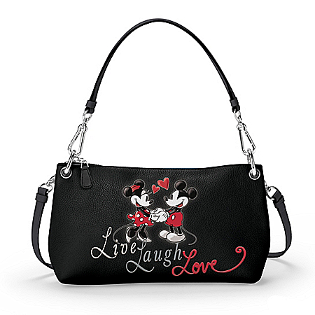 Live, Laugh, Love Disney Handbag That Can Be Worn 3 Ways