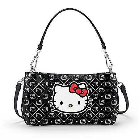 Hello Kitty Convertible Handbag That Can Be Worn In 3 Ways