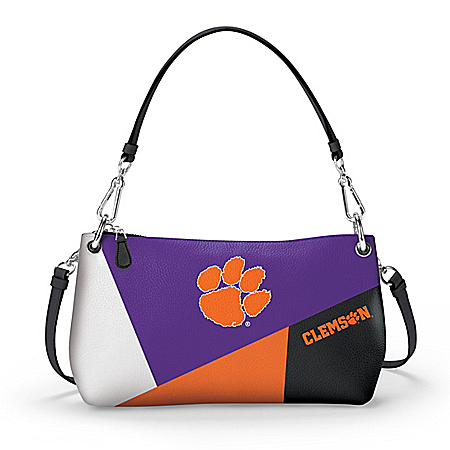 Clemson Tigers Handbag: Wear It 3 Ways