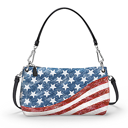 Stars & Stripes Forever Convertible Handbag: Wear It 3 Ways