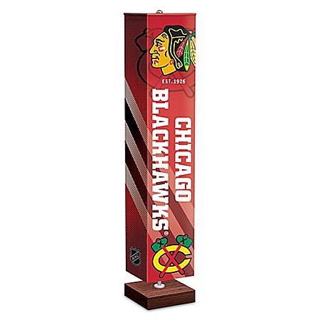 Chicago Blackhawks® Four-Sided Floor Lamp