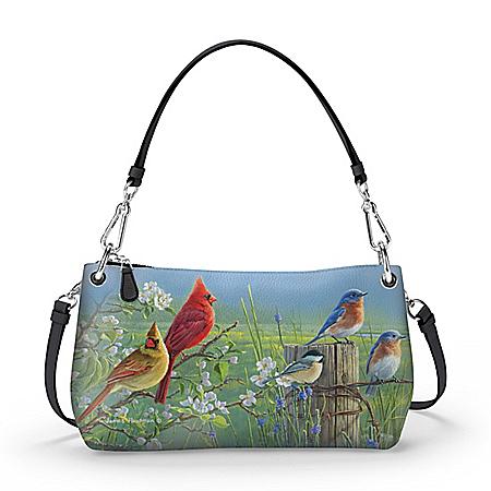 James Hautman Spring Serenade Handbag Can Be Worn 3 Ways