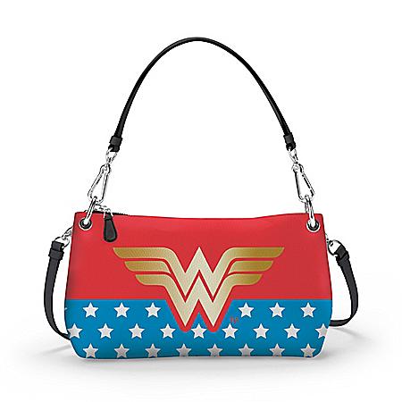DC Comics Wonder Woman Convertible Handbag: Wear It 3 Ways