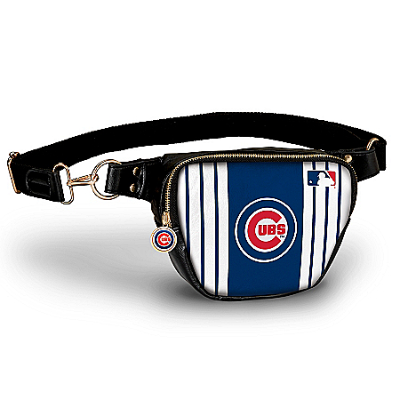 Chicago Cubs Hands-Free Purse With Team Logo Charm