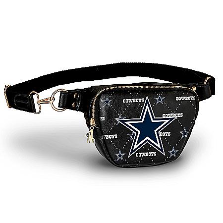 Cowboys Belt Bag With #1 Fan Charm & Adjustable Strap
