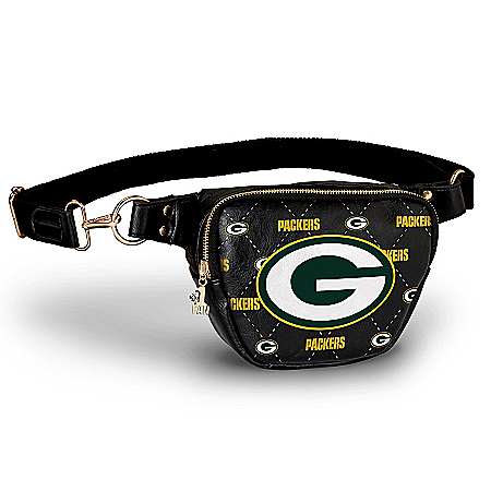 Packers Belt Bag With #1 Fan Charm & Adjustable Strap