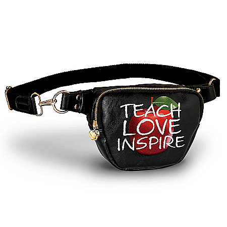 Teach, Love, Inspire Hands-Free Belt Bag For Teachers
