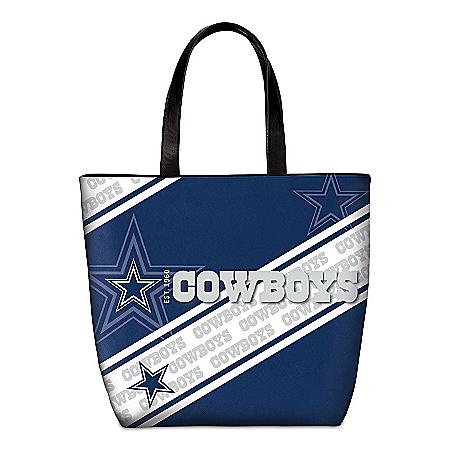 Dallas Cowboys Tote Bag With Team Logo