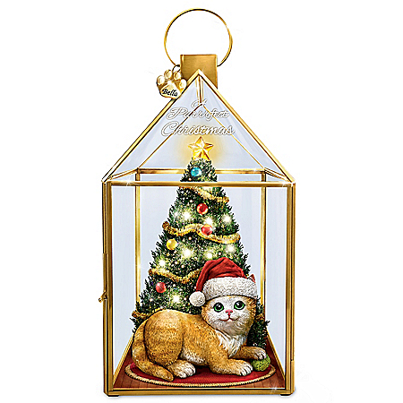 A Purrrfect Christmas Personalized Lantern – Personalized Jewelry