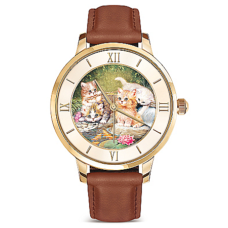 Jürgen Scholz Pawprints On Your Heart Women's Watch