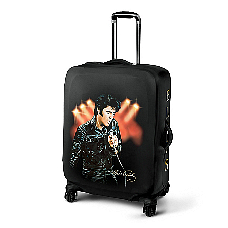 Elvis Presley Stretchable Easy-Care Suitcase Cover