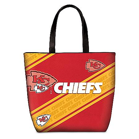 Kansas City Chiefs Tote Bag With Team Logo