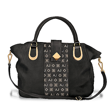 Personalized Designer-Style Satchel With Your Initials