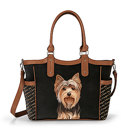 Personalized Designer-Style Dog Tote Bag: Choose Your Breed