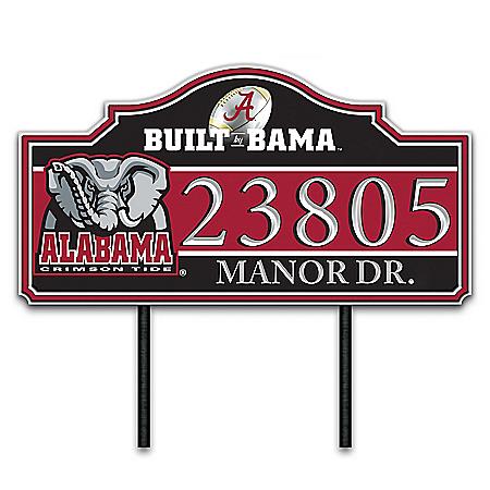 The University of Alabama Outdoor Address Sign
