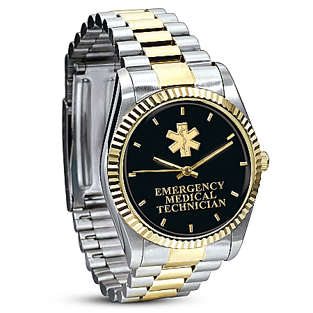 EMT Pride Stainless Steel Men's Watch