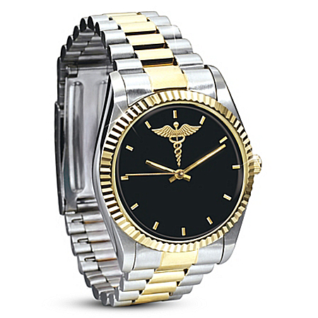 Caring & Compassion Stainless Steel Men's Watch