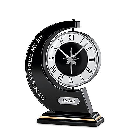 My Son, My Pride, My Joy Personalized Clock – Personalized Jewelry