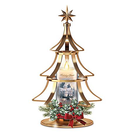 Thomas Kinkade Holiday Cheer Christmas Tree