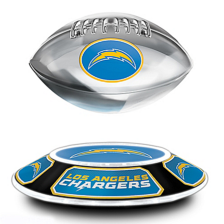 Los Angeles Chargers Levitating Football