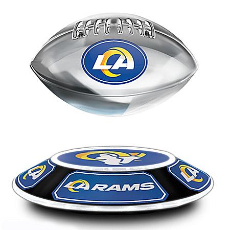 Los Angeles Rams Levitating NFL Football