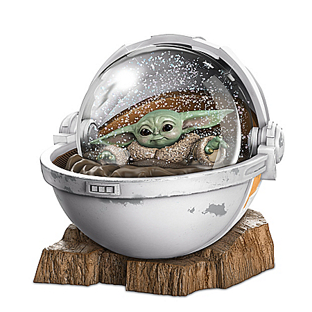 STAR WARS The Mandalorian The Child Glitter Globe