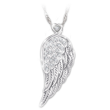 Guardian Angel Necklace For Daughters With Personalized Poem