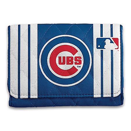 Chicago Cubs RFID Blocking Tri-Fold Wallet