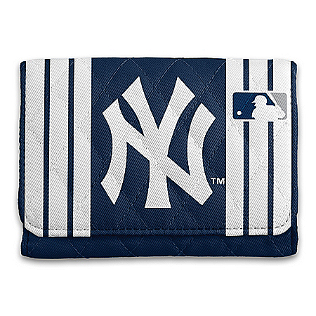 New York Yankees RFID Blocking Tri-Fold Wallet