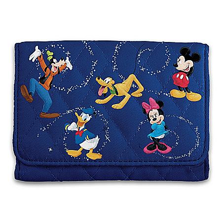 Disney Mickey Mouse & Friends RFID Blocking Tri-Fold Wallet