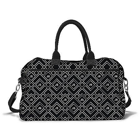 Just My Style Weekender Bag With Your Initials