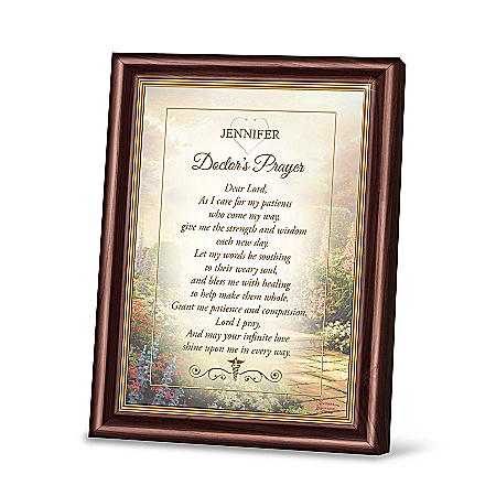 Personalized Framed Prayer For A Health Care Professional