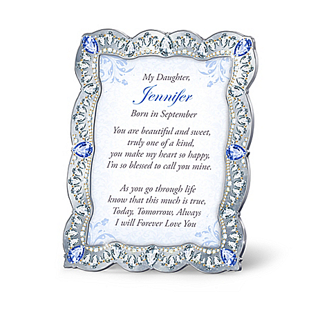 Daughter, You Are A Treasure Personalized Framed Poem