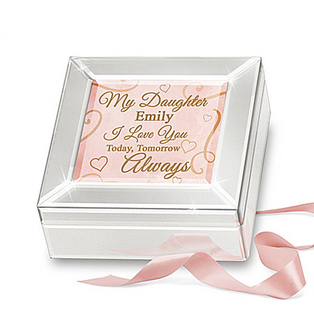 Glass Music Box Personalized For Your Daughter