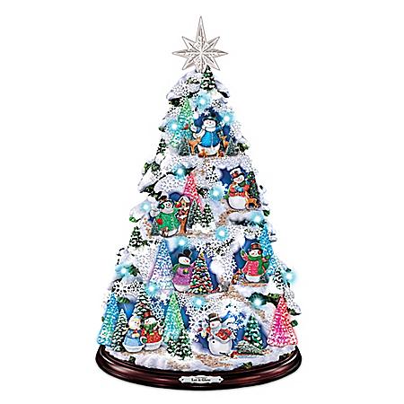 Thomas Kinkade Let It Glow Christmas Tree